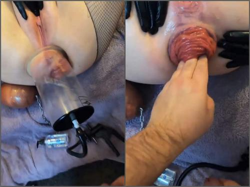 Big Ass – Violet Buttercup POV anal prolapse porn after hard pump