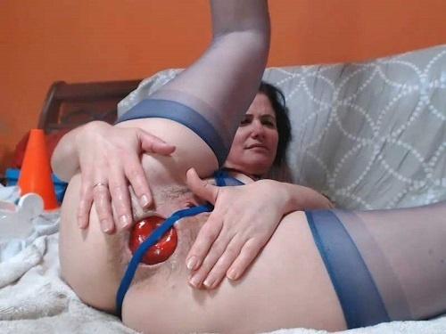 Vegetable porn – Queenvivian panty fetish and BBC hard rides webcam