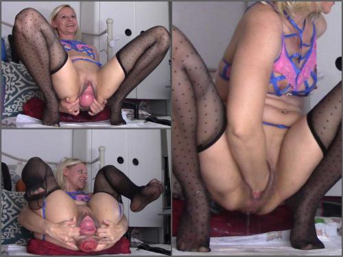 Cervix – Sexy russian blonde fist pound ass n pussy prolapse – Premium user Request