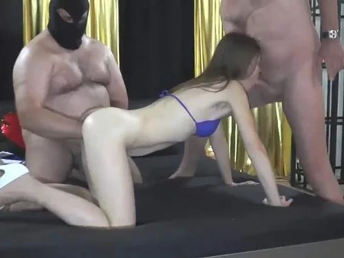 Amateur – Huge fatty bear vaginal domination fisting to skinny german girl